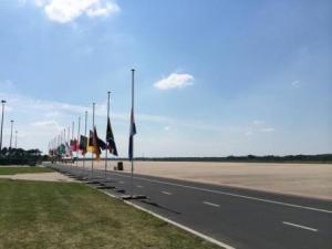 flags half mast